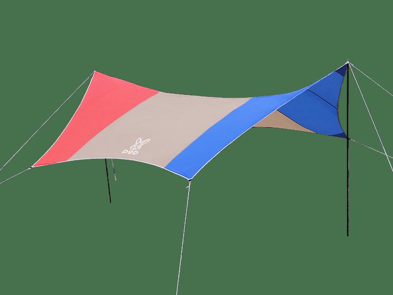 トリコロールタープの製品画像