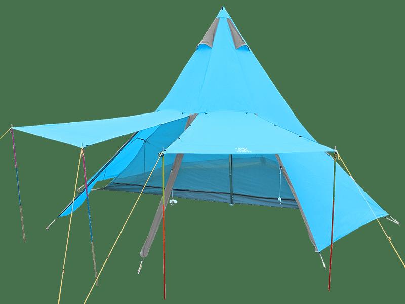 2ルームワンポールテントの製品画像