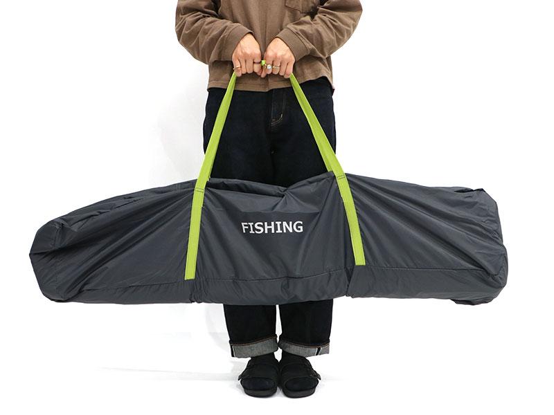 ワンタッチフィッシングテントの各部の特徴(キャリーバッグ)