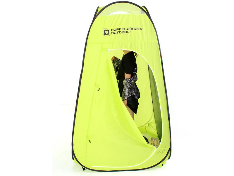 お昼寝&お着替えテントの各部の特徴(着替え用テント)
