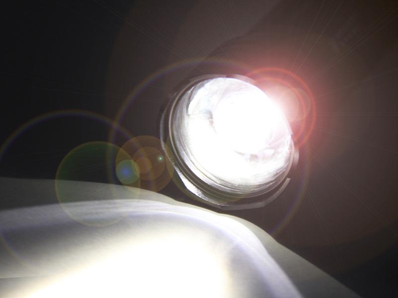 マキシマスパークのメインの特徴(明るさ最大260ルーメン ※L1-105の場合。)