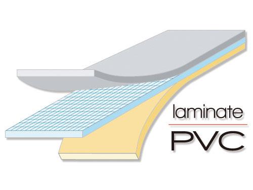 インフレータブルボートのメインの特徴(ラミネートPVC)