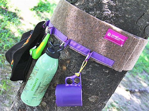 マルチロングツリーウェアのメインの特徴(キャンプ時の収納アクセサリーとして)