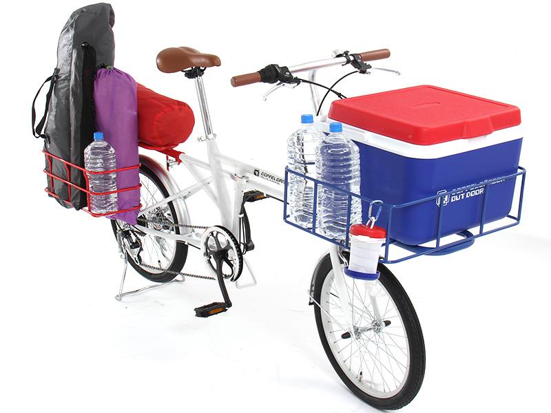 2WAYアウトドアバイクの使用の一例