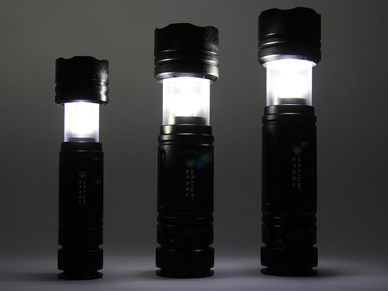 マキシマスパークの各部の特徴(LED lantern(ランタン))