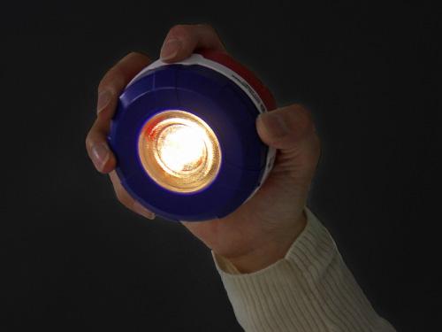 ポップアップ 2WAY LEDランタンの各部の特徴(ハンドライト)