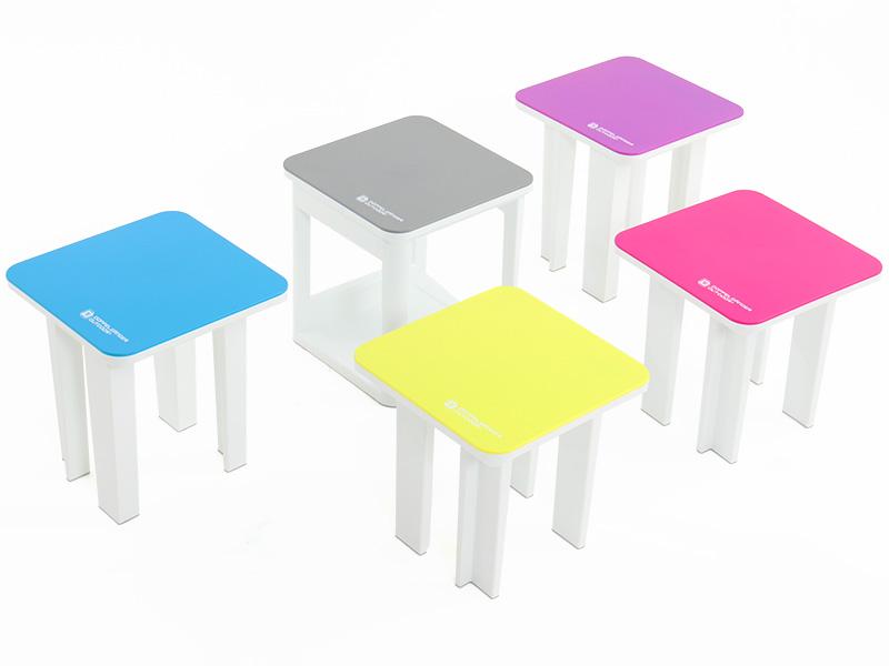 5in1テーブルチェアセットレイアウトの一例画像