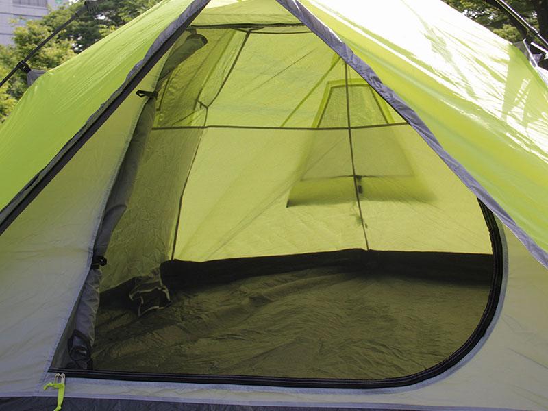 ビッグストレージワンタッチテントの各部の特徴(蚊帳)