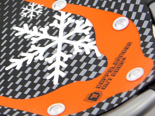 トレッキングポールスノーシューセットB.スノーシュー SW-14画像
