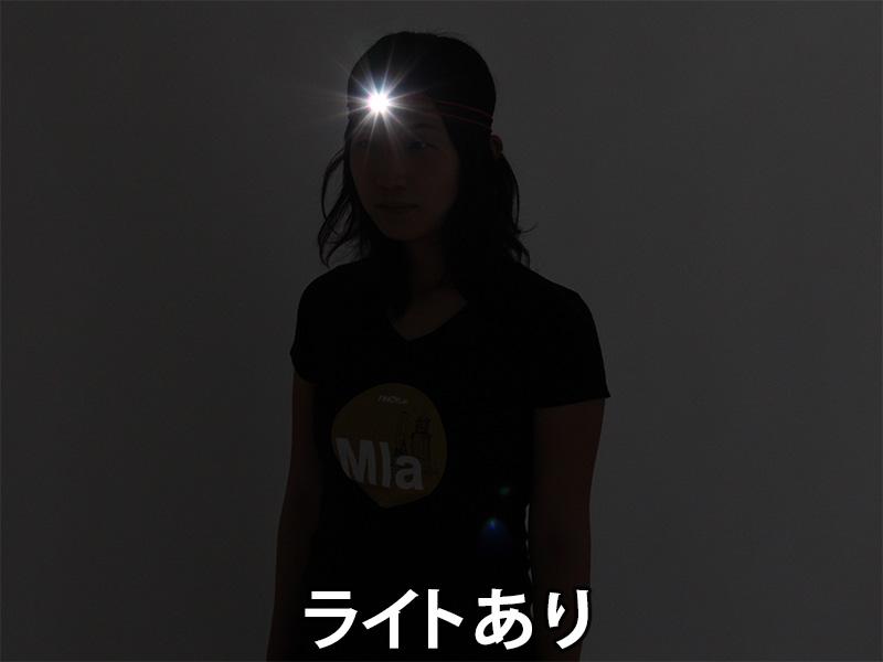 ウルトラマイクロ2WAYヘッドライト夜間の被視認性画像