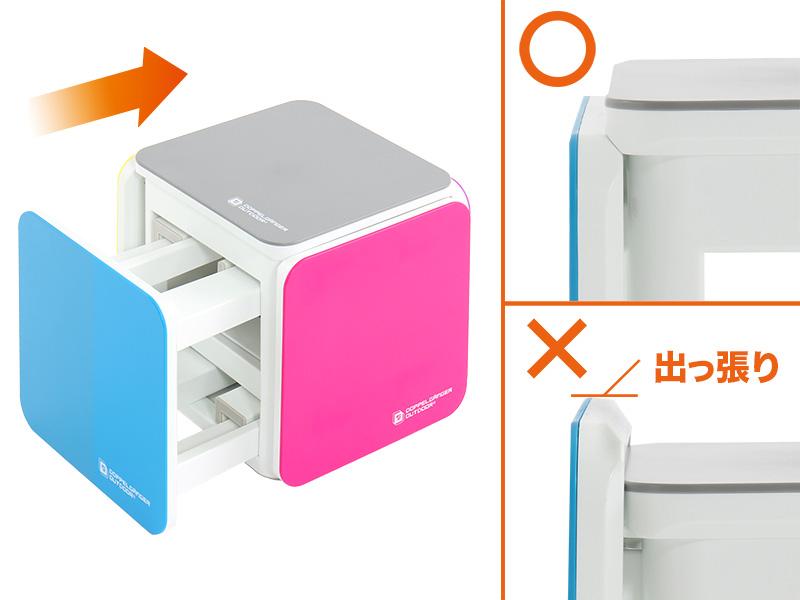 5in1テーブルチェアセットの収納/撤収方法