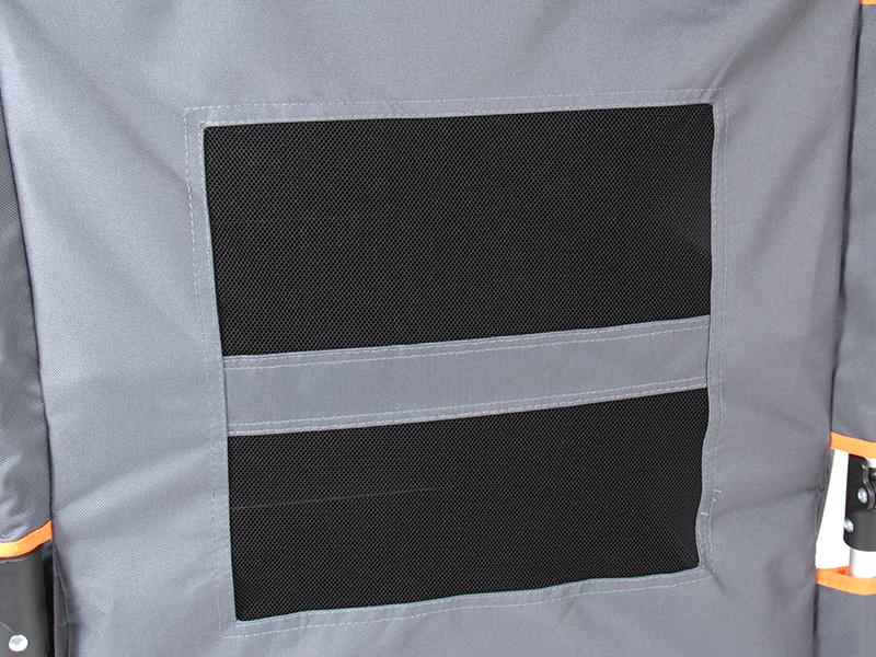 マルチキッチンテーブルの各部の特徴(背面メッシュ)