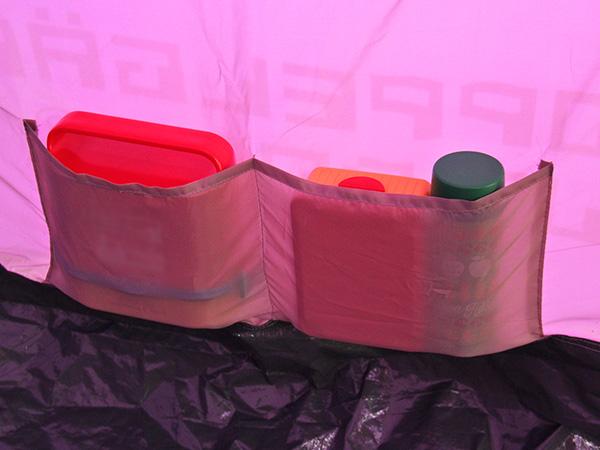 タープリーテントの各部の特徴(インナーポケット)