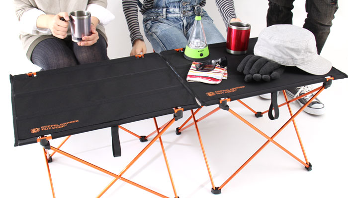 ウルトラライトテーブルの使用の一例