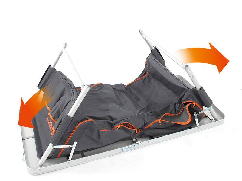 グッドラックテーブルの組立/設営方法