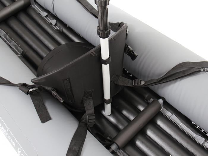 インフレータブルカヤックの各部の特徴(シートホルダー)