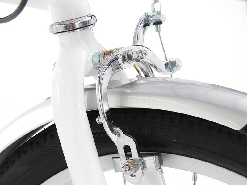 2WAYアウトドアバイクの各部の特徴(キャリパーブレーキ)