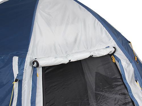 2ルームワンタッチテントの各部の特徴(タープホルダー)