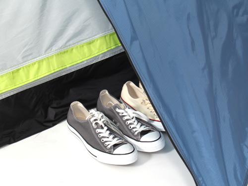 2WAYワンタッチテントの各部の特徴(荷室)