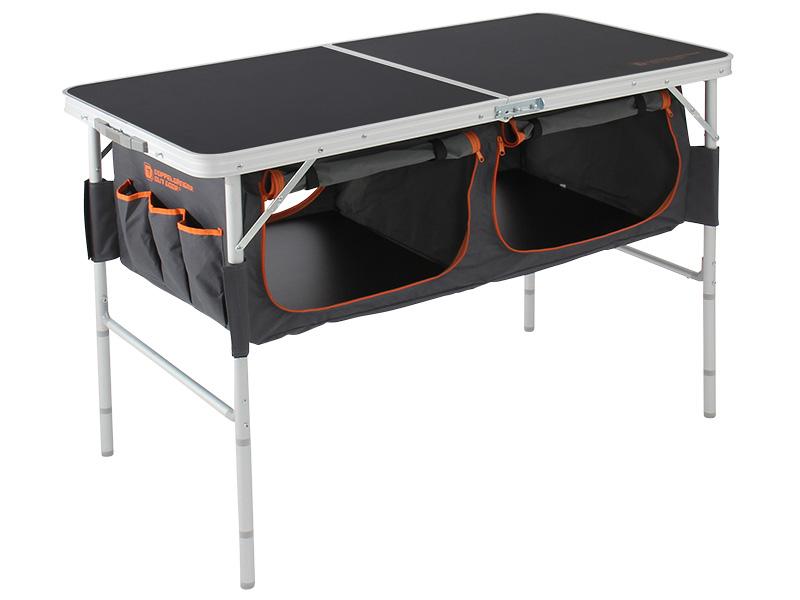 ストレージアウトドアテーブルの組立/設営方法