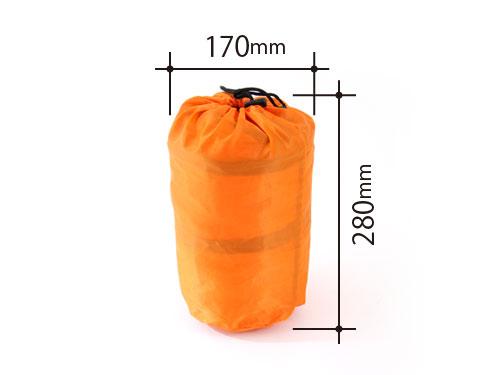 マットインスリーピングバッグの各部の特徴(マット用バッグ)