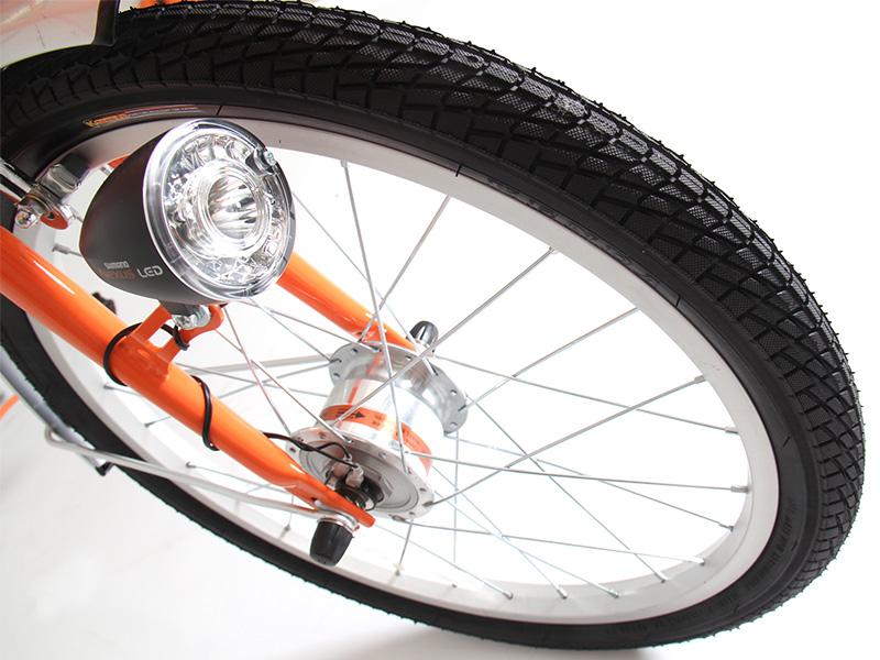 2WAYアウトドアバイクの各部の特徴(レスパンクタイヤ ※OB1-121のみ)