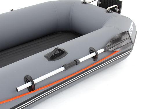 インフレータブルボートの組立/設営方法