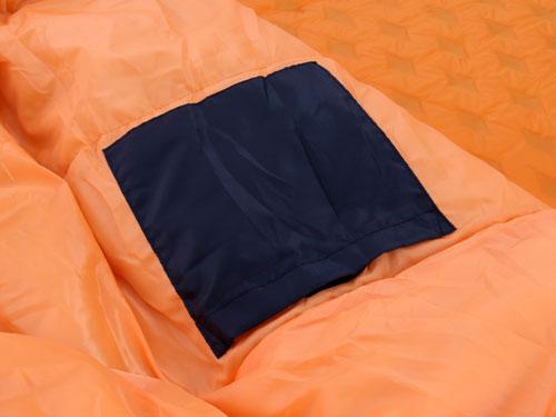 マットインスリーピングバッグの各部の特徴(インナーポケット)