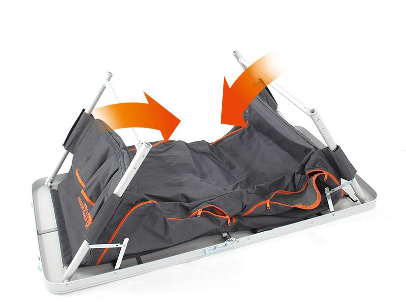グッドラックテーブルの収納/撤収方法