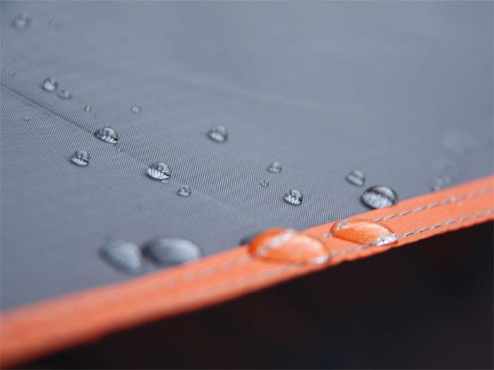 ワンタッチテントの各部の特徴(耐水圧)