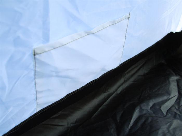 ワンタッチテントの各部の特徴(インナーポケット)