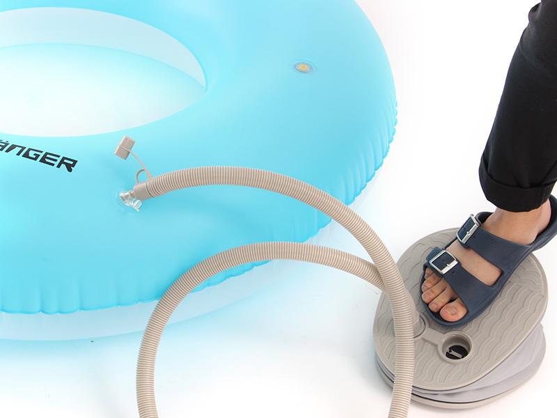 エレクトリック浮き輪の組立/設営方法