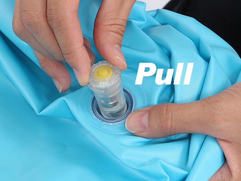 エレクトリック浮き輪電池交換方法画像