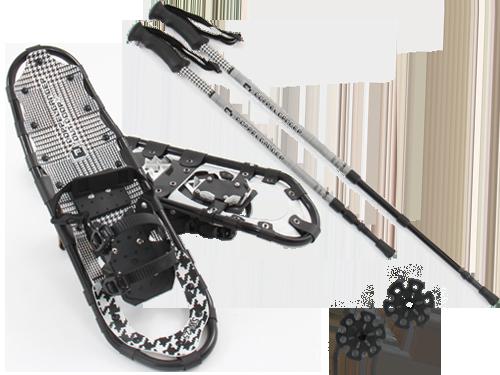 トレッキングポールスノーシューセット27inchの製品画像