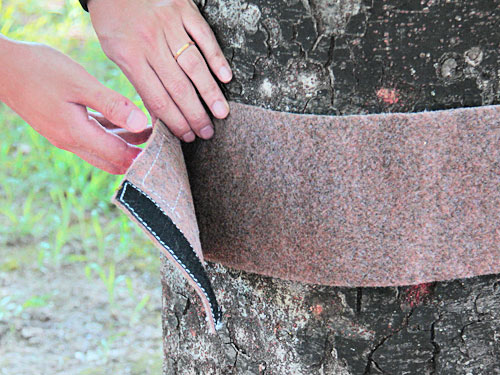 マルチロングツリーウェアの各部の特徴(簡単取り付け)