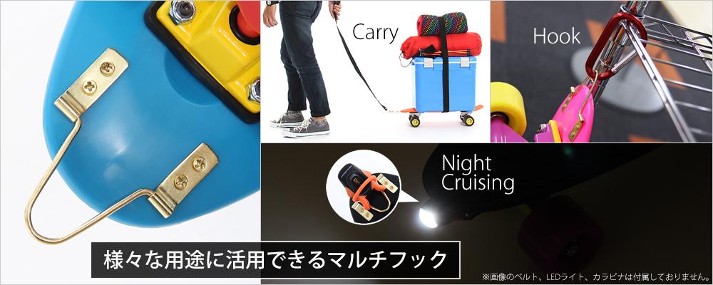 アウトドアスケートボードの各部の特徴()
