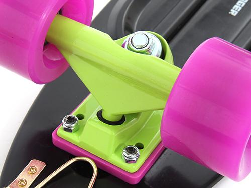 アウトドアスケートボードの各部の特徴(アルミヘビーデューティー トラック)