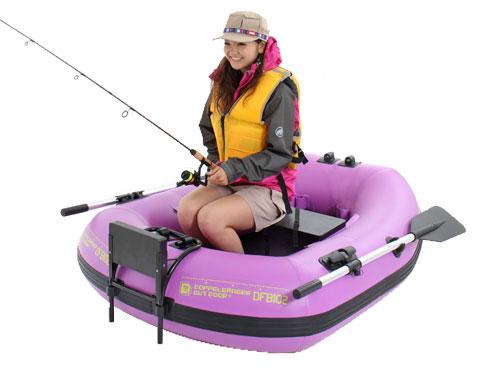 バスフローターボートの各部の特徴(ファッションテイストボート)