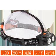 ハイパワーデュアルアイLEDヘッドライト画像