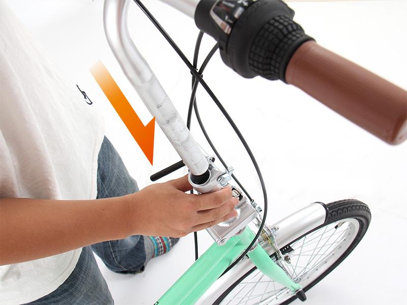 2WAYアウトドアバイク自転車本体 組立方法画像