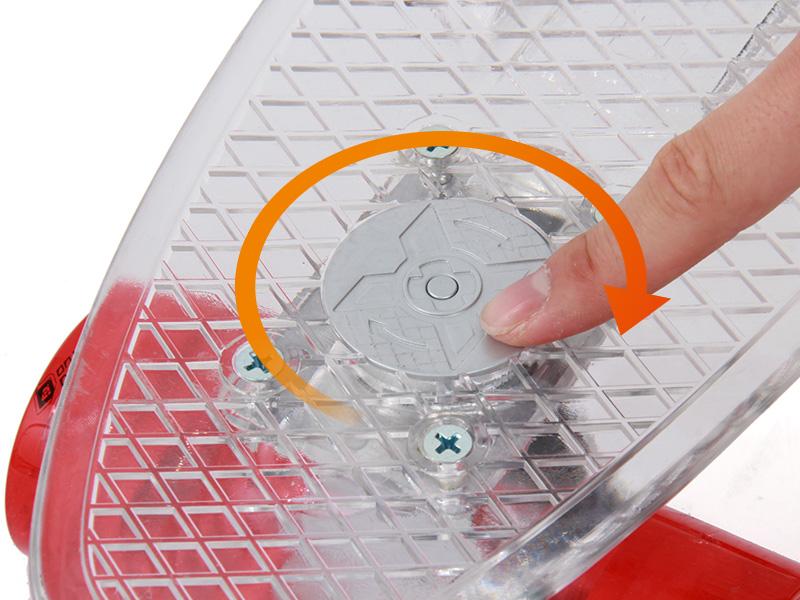 LEDスケートボード電池交換方法画像