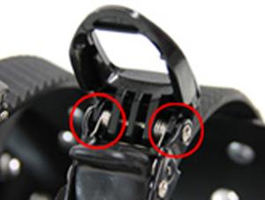 トレッキングポールスノーシューセット製品取扱の注意事項画像