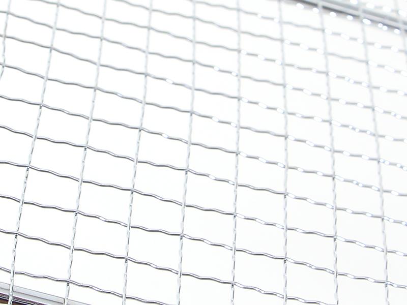 オヒトリサマBBQグリル専用網の各部の特徴(ステンレス製)