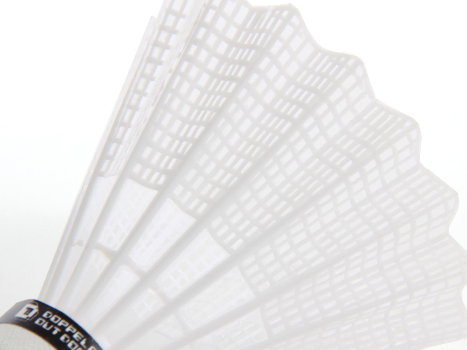 LEDバドミントンシャトルの各部の特徴(ナイロン製)