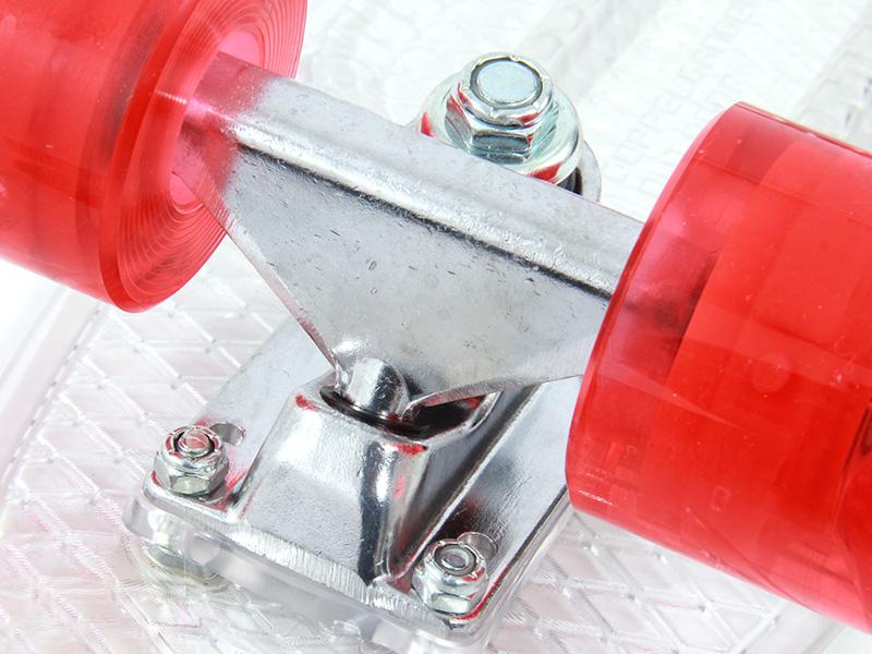 LEDスケートボードの各部の特徴(アルミヘビーデューティートラック)