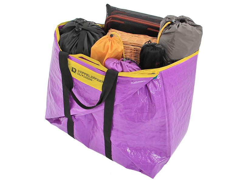 折り紙レジャーシートの各部の特徴(重い荷物もまとめて運べる)