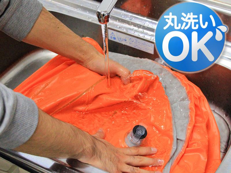 セダンモベッドの各部の特徴(丸洗いOK)