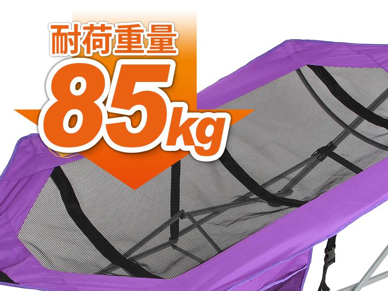 ウルトラライトハンモックの各部の特徴(耐荷重85kg)