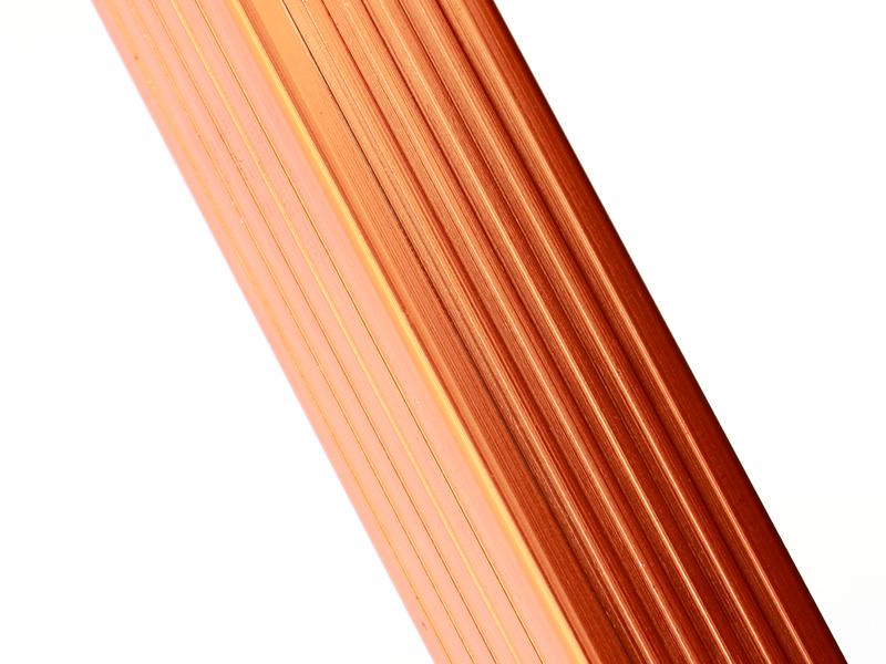 ストレージベンチの各部の特徴(アルマイト加工)
