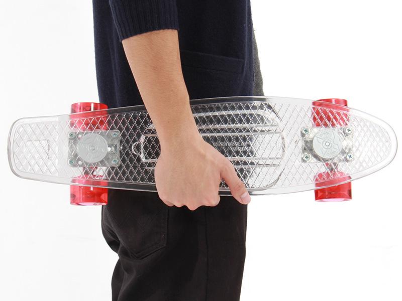 LEDスケートボードの各部の特徴(軽量・コンパクト)